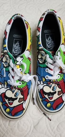 949cce28c254 Vans Shoes | Super Mario Limited Edition | Poshmark